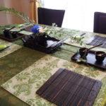 アン料理教室 4月後半テーブル