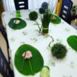 5月のテーブル