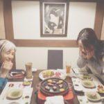 久々夜遊び♡美のお友達と 舎人庵 とんぼ  丸の内  牛料理    / 名古屋市料理教室アン料理教室