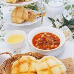 メロンパンレッスン開催しました&ご案内♡ / 名古屋市  個人 栄 高岳 中区 東区 料理教室 アン料理教室