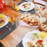 手作りパン & 手作りタルト で ミーテイング♡ 手作り食卓で思うこと / 名古屋市 栄 高岳 料理教室 アン料理教室