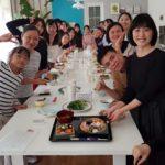 海外にて 日本料理教室 おせち