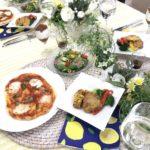 7月前半メニュー 手作りピザ!イタリアンメニュー
